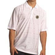 "Boston Bruins Antiqua NHL ""Tone"" Performance Polo Shirt - White"