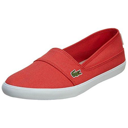 45a3f57177 Lacoste Women's Marice Slip On Fabric Shoes, Red