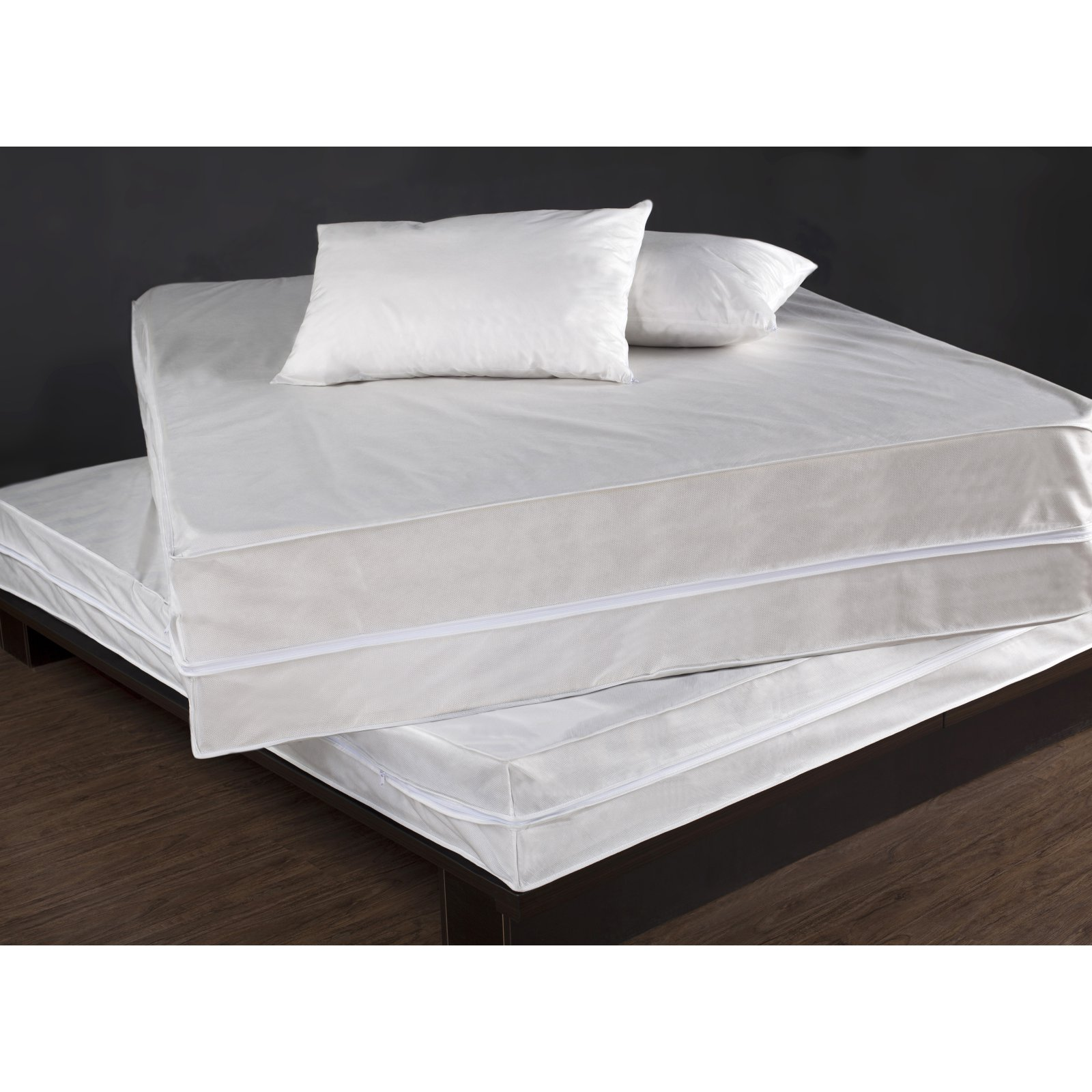 PermaShield Bed Bug and Dust Mite Control Waterproof Polypropylene Complete Bed Protector Set