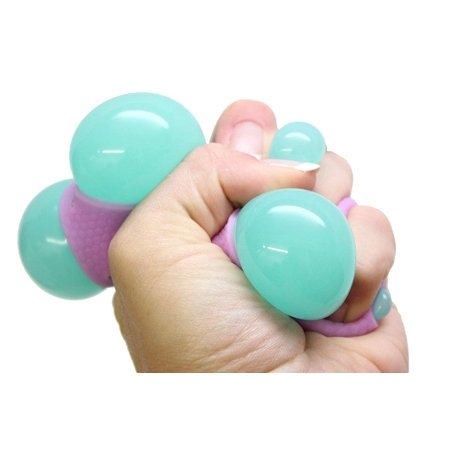 1 Mesh Blob Ball - Squeeze Stress Ball - Sensory Stress Fidget Toy - Squishy Toy](Squishy Stress Balls)
