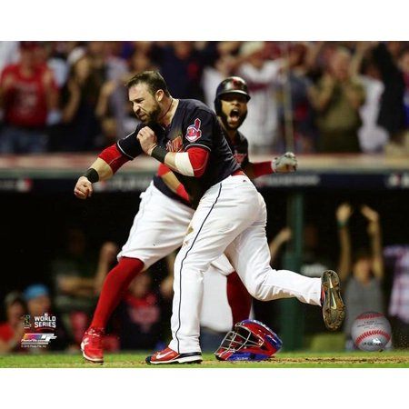 Jason Kipnis scores on a wild pitch during Game 7 of the 2016 World Series Photo (1960 World Series Game 7 Box Score)