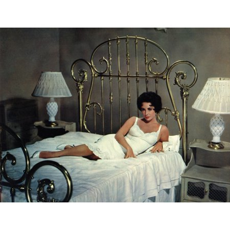 Cat On A Hot Tin Roof Elizabeth Taylor 1958 Photo