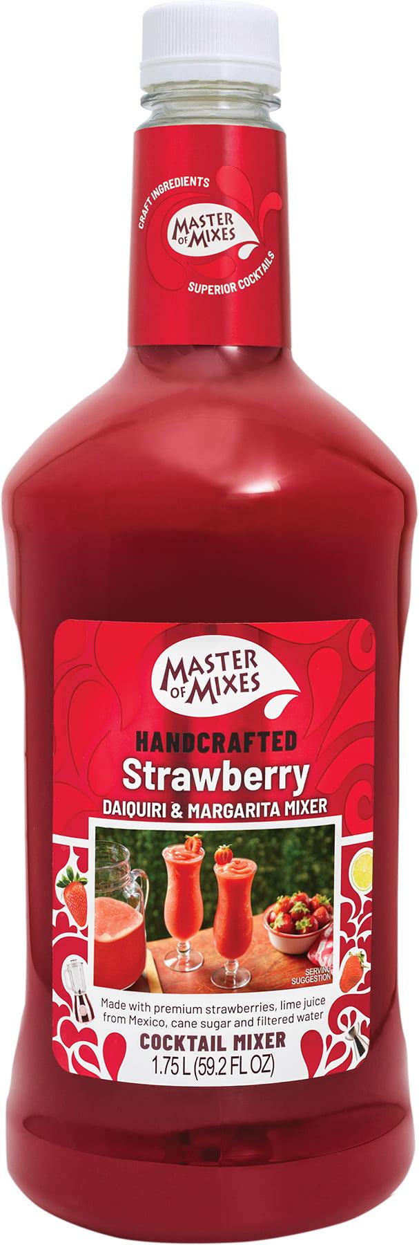 Master Of Mixes Strawberry Daiquiri Margarita Mix 1 75 L Walmart Com Walmart Com