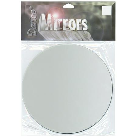 """Round Glass Mirror 1/Pkg-7"""""""