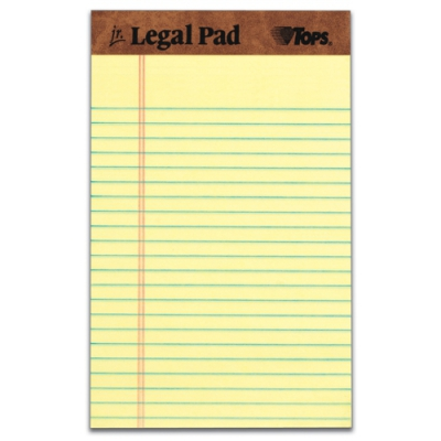 The Legal Pad Writing Pad TOP75013