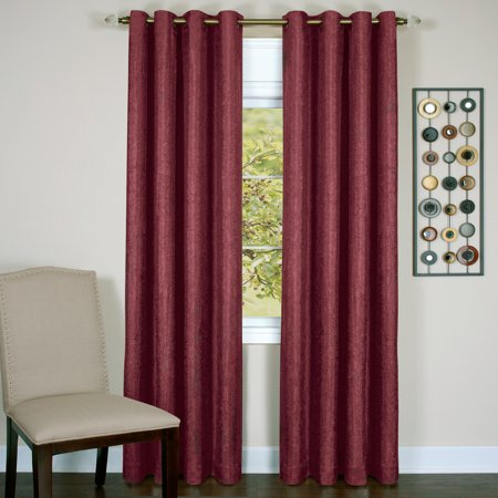 Achim Taylor - Lined Grommet Window Curtain Panel Taylor Curtain Panel