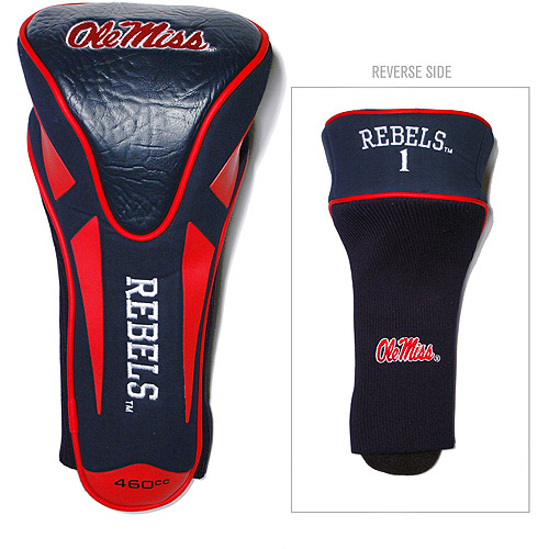 Team Golf NCAA Mississippi Single Apex Driver Head Cover