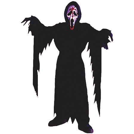 Fun World Bleeding Ghost Face Child Halloween Costume - Fun Family Themed Halloween Costumes