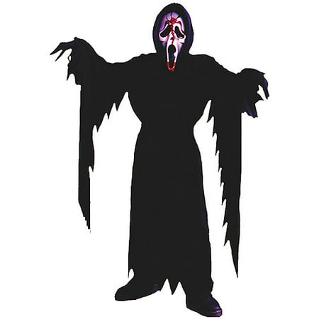 Kids Friendly Ghost Costume (Fun World Bleeding Ghost Face Child Halloween)