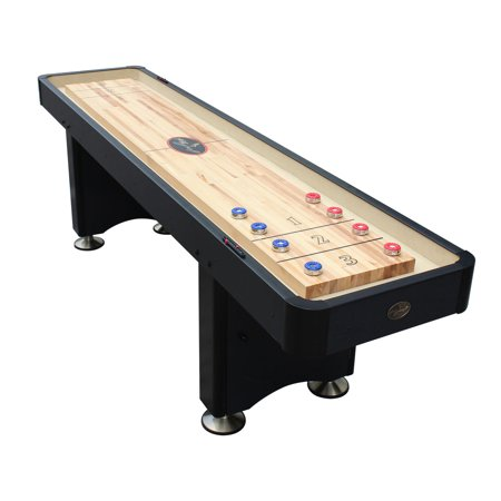 Playcraft Woodbridge Black 12' Shuffleboard Table