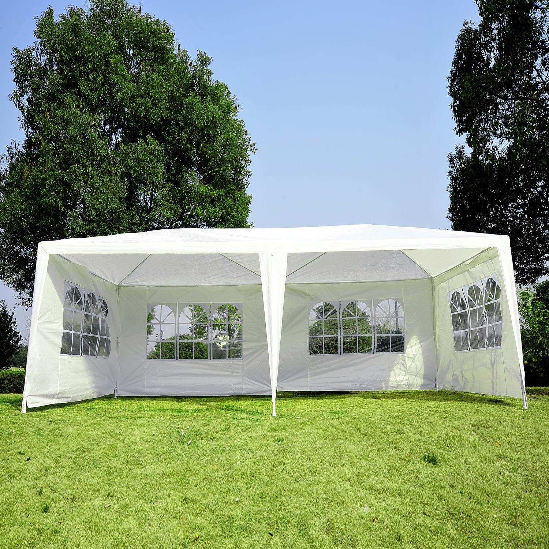 & Outsunny 10 x 20 ft. Gazebo Canopy Tent - Walmart.com