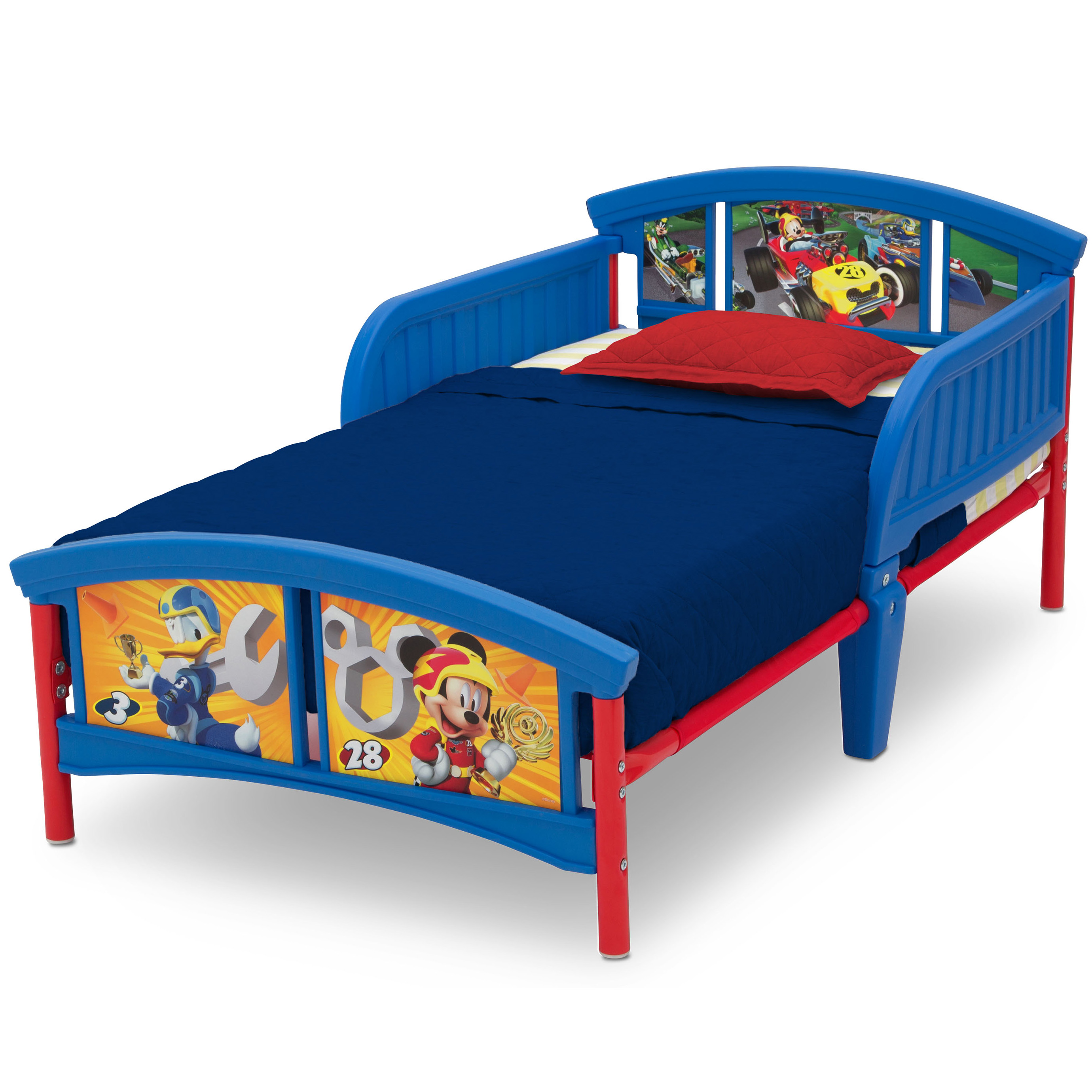 Camas De Matrimonio Beds : Delta children disney mickey mouse plastic toddler bed multiple