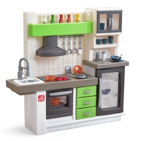 Little Tikes Modern Play Kitchen With 40 Piece Accessory Set