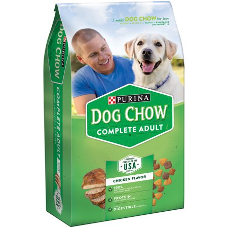 Purina Dog Chow Complete Adult Dog Food 4.4 lb. Bag
