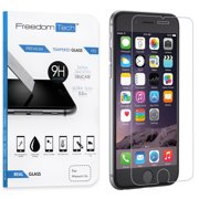 Freedomtech iPhone 6S Screen Protector Real Tempered Glass Film LCD Guard