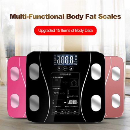 Body Fat Scales Intelligent Electronic Weight Scale High Digital BMI Scale Water Mass Health Body Composition Analyzer Monitor - image 7 of 7