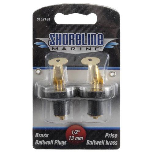 """Shoreline Marine 1/2"""" Baitwell Plug"""