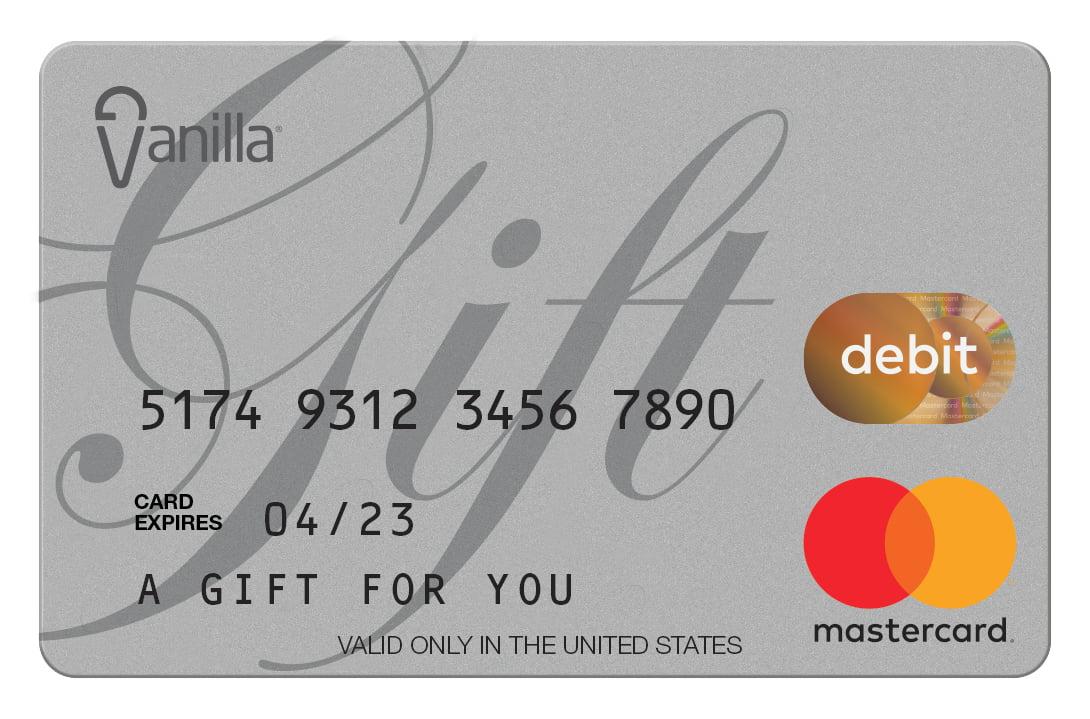 $14 Vanilla eGift Mastercard® Virtual Account - Walmart.com