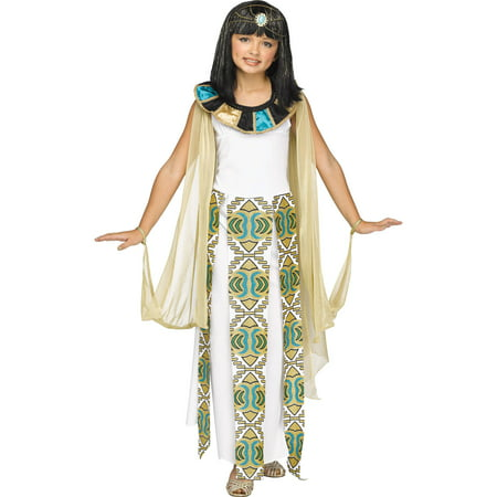 Cleopatra Girls Child Halloween Costume - Homemade Cleopatra Costume