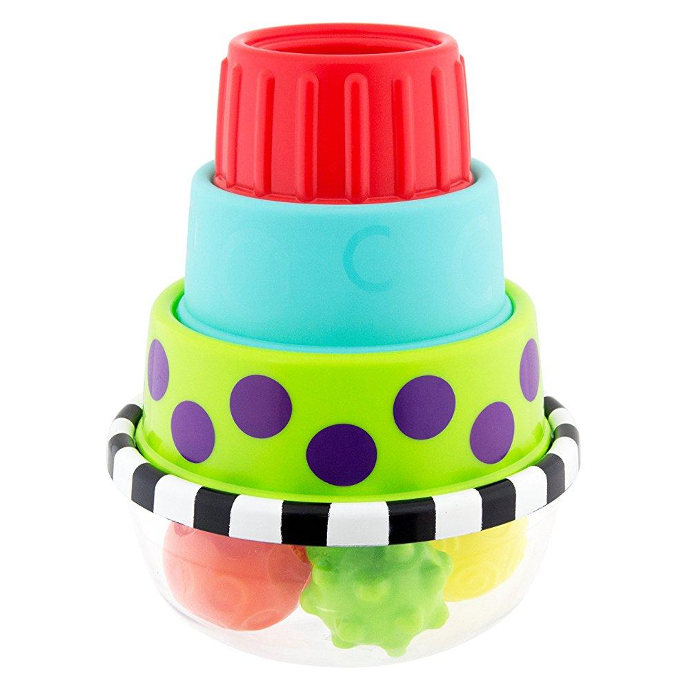 Sassy Stack & Dunk Floor Toy by Sassy