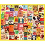 White Mountain Puzzles Cookbooks Collage Puzzle, 1000 Pieces