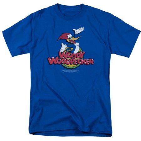 Woody Woodpecker/Woody S/S Adult 18/1   Royal     Uni119 100 Roman Tub Set