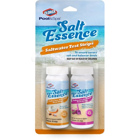 (Clorox Pool&Spa Salt Essence Salt Test Strips)