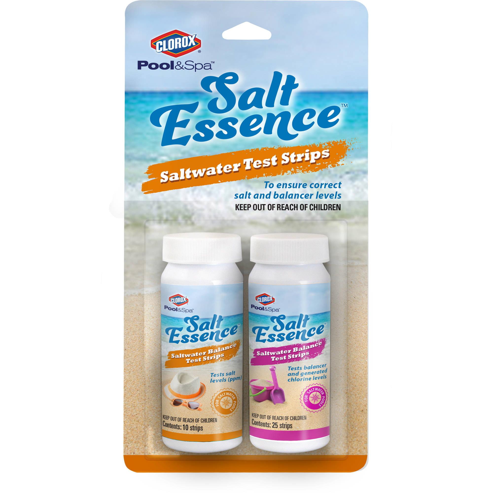 Clorox Pool&Spa Salt Essence Salt Test Strips