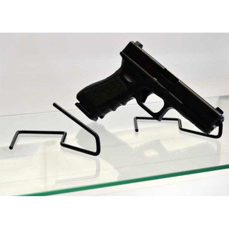 Ultimate Arms Gear Black Coated Steel Construction Easy Use Beretta 92 92A1  96 PX4 Storm 92FS Revolver Pistol Gun Handgun Firearm Storage Shelf Rack