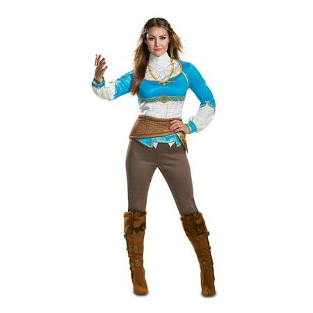 Zelda Breath Of The Wild Women's Halloween Costume - Cheap Zelda Costume