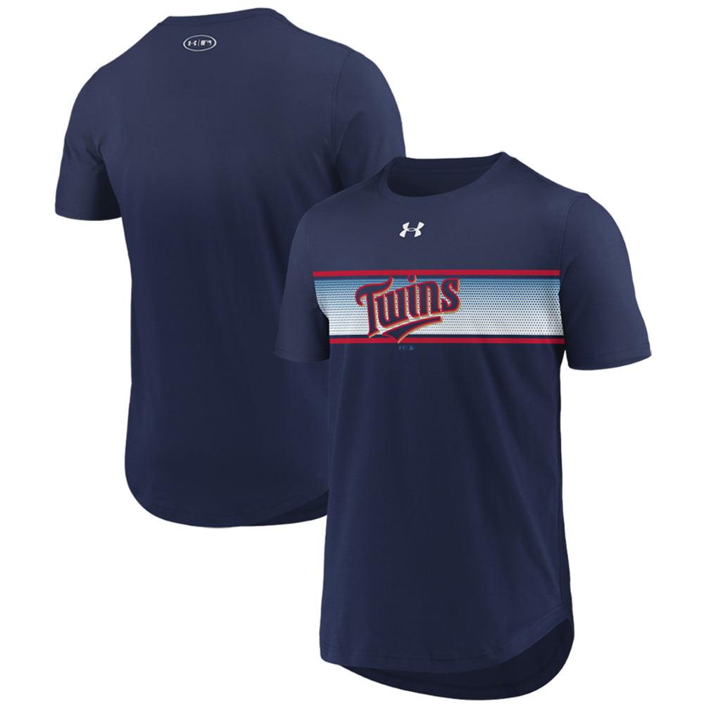 Minnesota Twins Under Armour Seam To Seam Core T-Shirt - Navy