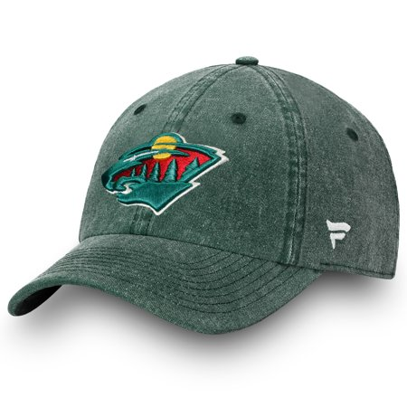 Minnesota Wild Fanatics Branded Timeless Fundamental Adjustable Hat - Green -