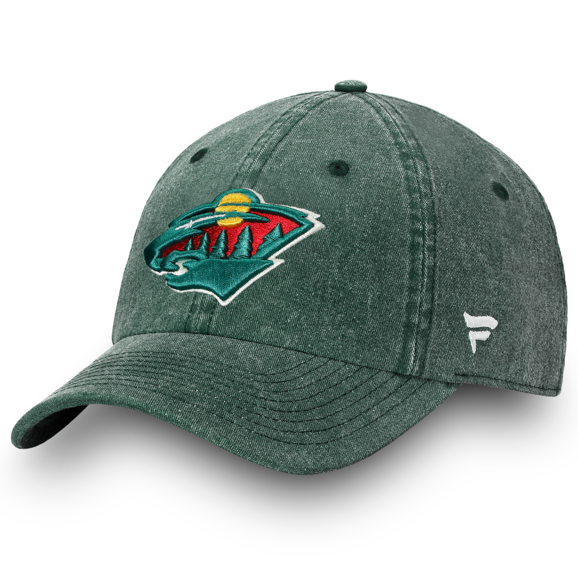 Minnesota Wild Fanatics Branded Timeless Fundamental Adjustable Hat - Green - OSFA
