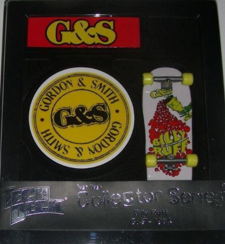 Collector Series (Billy Ruff G&S 1984) 96mm Skateboard, Tech Deck Collector Series By Tech Deck by