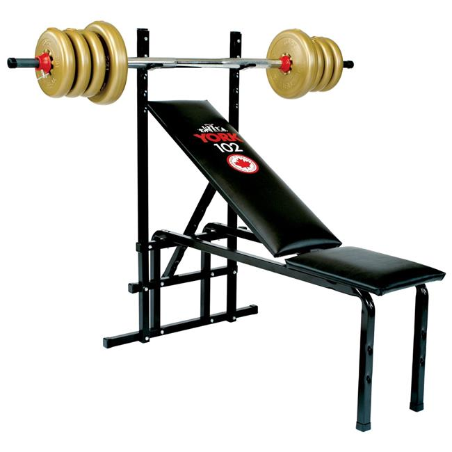 York Barbell 4002 York 102 Bench