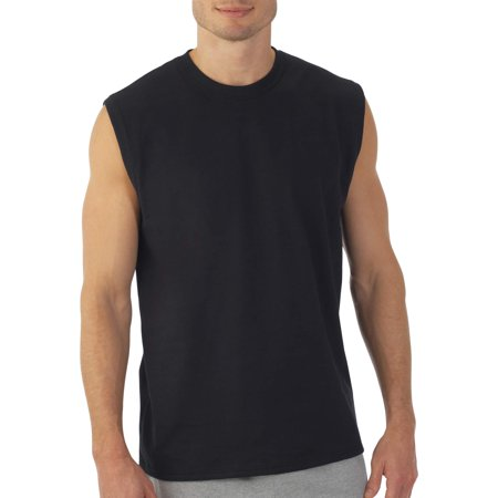 Fruit of the Loom Big mens dual defense upf muscle shirt, available up to sizes 4x