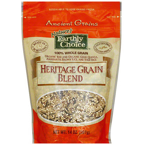 Nature's Earthly Choice Ancient Heritage Grain Blend, 14 oz (Pack of 6)
