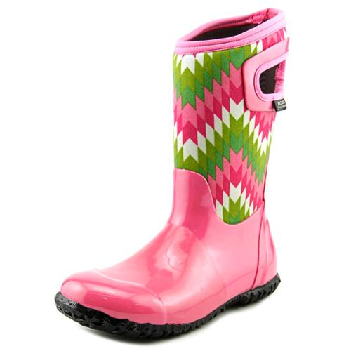Bogs K NH Native Youth US 4 Pink Rain Boot