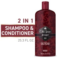 Old Spice Mens 2 in 1 Shampoo and Conditioner, Swagger, 25.3 fl oz