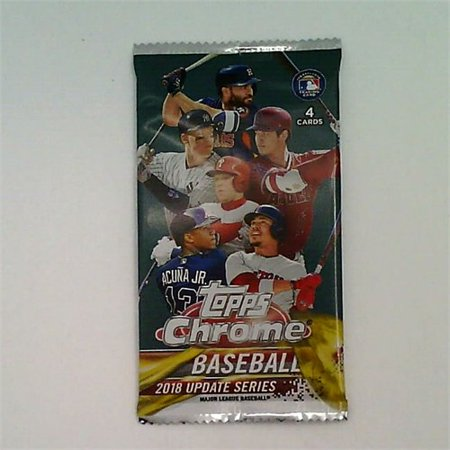 Exclusive 2018 Topps Chrome Baseball Update Pack