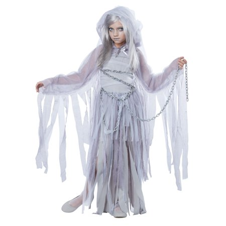 Haunted Mansion Costumes (Child Female Haunted Beauty Ghost Costume by California Costumes 394)
