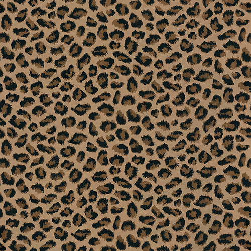 Blue Mountain Jaguar Wallcovering, Realistic