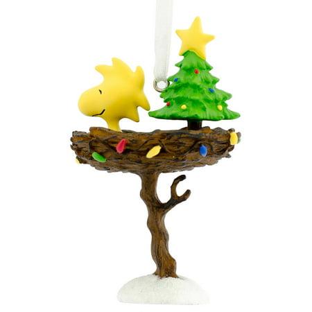 Hallmark Peanuts - Hallmark Peanuts Woodstock in Nest Ornament