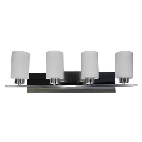 led bathroom vanity lights crystal accents homeselects international 7545 contempo 4light 33