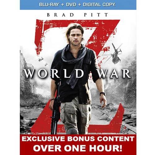 World War Z (Blu-ray + DVD + Digital Copy) (With INSTAWATCH) (Widescreen)