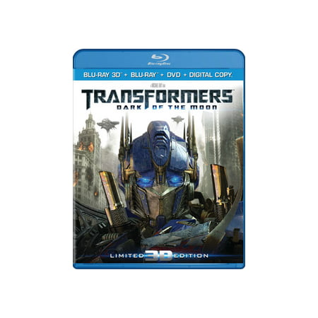 Transformers: Dark Of The Moon (3D Blu-ray + Blu-ray +
