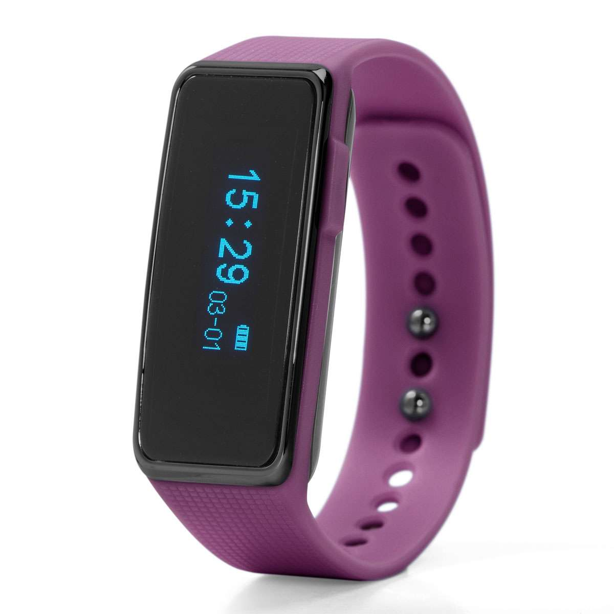 Nuband Activ+ Activity Tracker Watch, Purple
