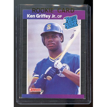 1989 Donruss #33 Ken Griffey Jr Mariners Rookie - 1988 Donruss Mlb Rookie Card