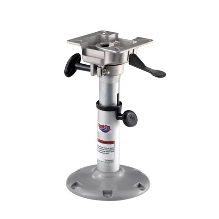 Attwood Adjustable Seat Pedestal, (Brass Set Pedestal)