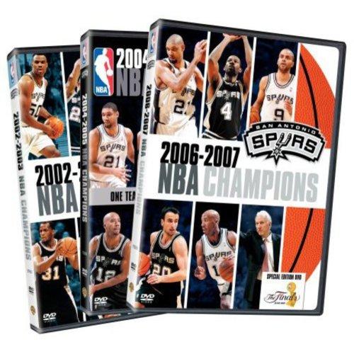 NBA Champions 2003 - 2007: San Antonio Spurs (3-Pack)